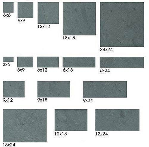 Sheldon Slate Products Company Inc Monson Maine Middle - 12x18 floor tile