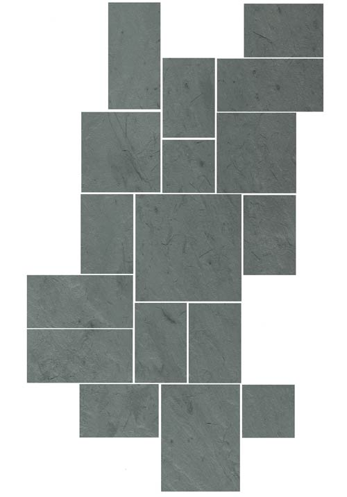 Sheldon Slate Products Company Inc Monson Maine Middle - 18 x 24 slate tile