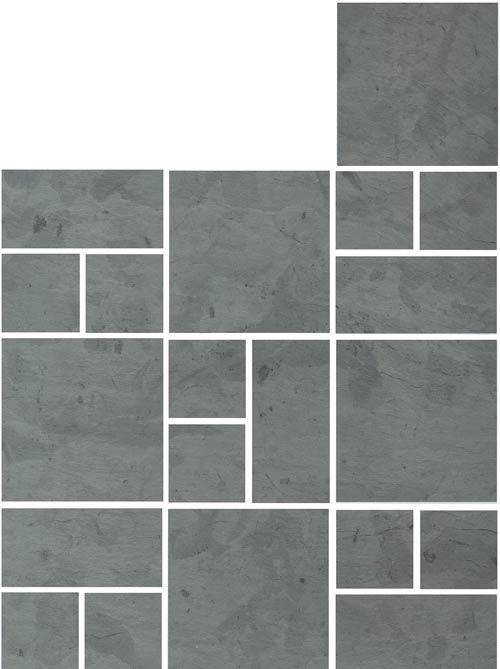 Tatko Slate Millennium Repeat Pattern